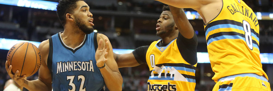 Timberwolves vs Nuggets NBA Betting Lines & Game Analysis.