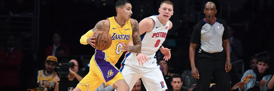 How to Bet Lakers vs Pistons NBA Spread & Prediction.