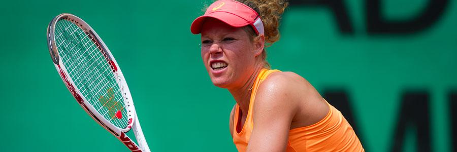 Laura Siegemund looks like a safe Tennis Betting pick for this week.