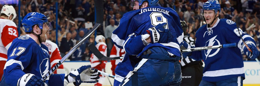 Tampa Bay vs Detroit Game 3 Hockey Playoff Odds Guide