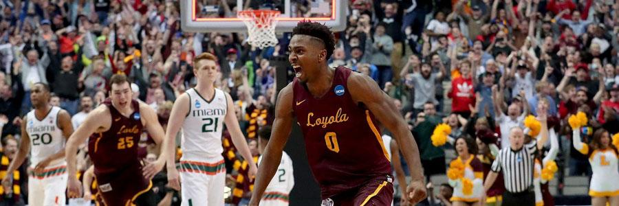 2018 March Madness Betting Prediction: Loyola-Chicago vs. Nevada