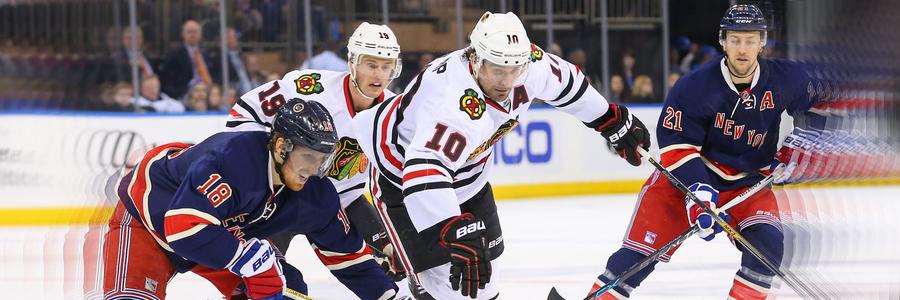 Chicago vs Detroit NHL Odds