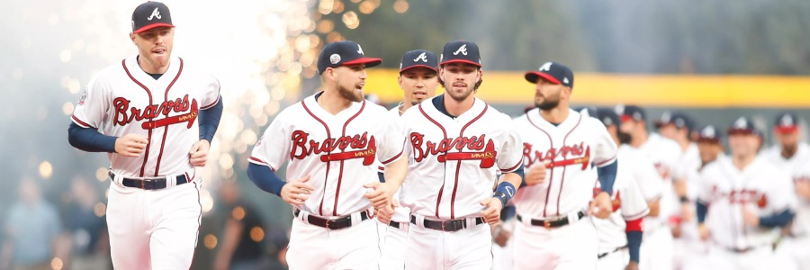 The Braves head into the MLB series as underdogs against the Nationals.