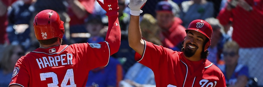 The Nationals head into this MLB series as the favorite to win.
