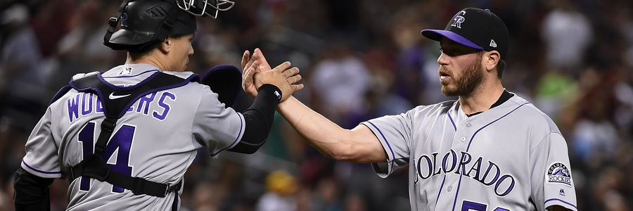 The Rockies head in as favorites in the MLB series against the Padres.