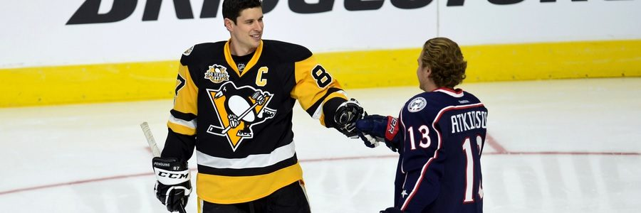 The Penguins come in as the NHL Betting favorites against the Senators.
