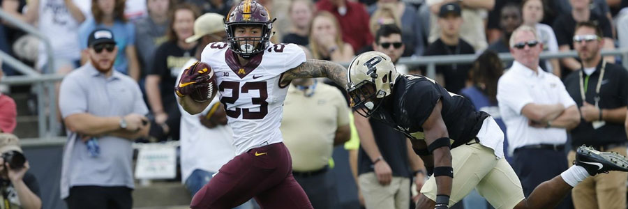 Minnesota comes in as the favorite to beat Purdue in the College Football Week 5.