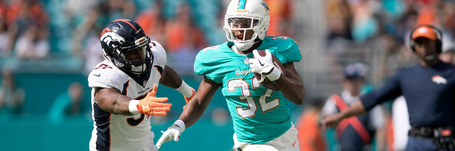 The Dolphins are huge underdogs at the NFL Week 15 Spread.