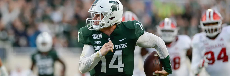 Michigan State vs Wisconsin 2019 College Football Week 7 Lines & Expert Pick.
