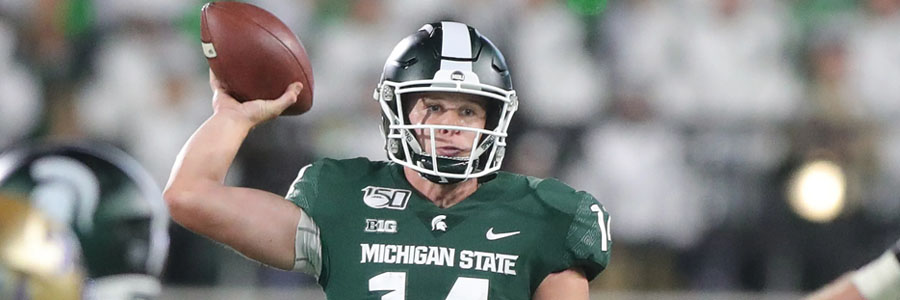 Western Michigan vs Michigan State 2019 College Football Week 2 Odds & Pick.