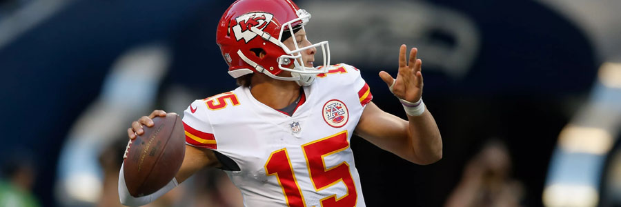 The Chiefs are favorites once again for their NFL Week 4 matchup against the Lions.