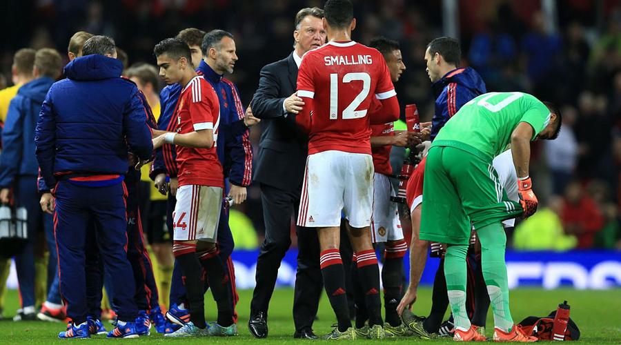Manchester United Huddle