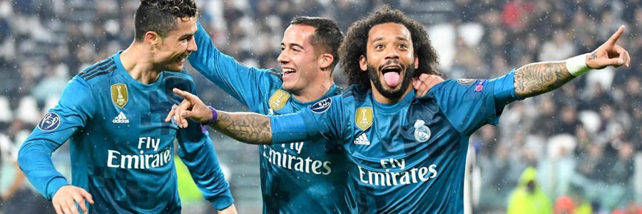 Real Madrid is the Soccer Betting Favorite vs. Juventus on Wednesday.