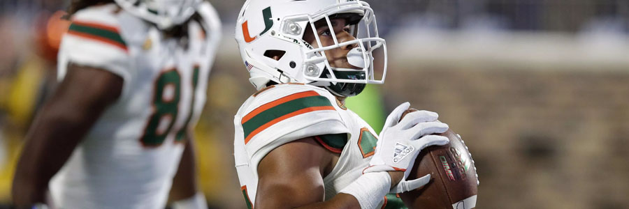 Miami is a huge favorite at the NCAAF Betting Odds for Week 8.