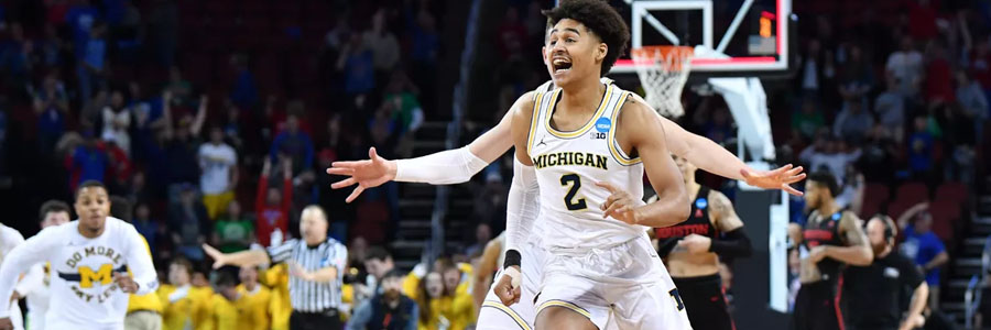 The NCAA Basketball Championship Odds for Michigan are not very good.