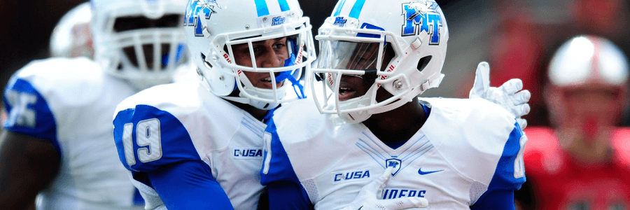 Middle Tennessee vs. Western Michigan Free NCAA Football Pick