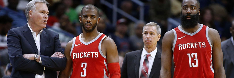 According to the NBA Odds, the Rockets are huge favorites to take a 2-0 lead against Minnesota.