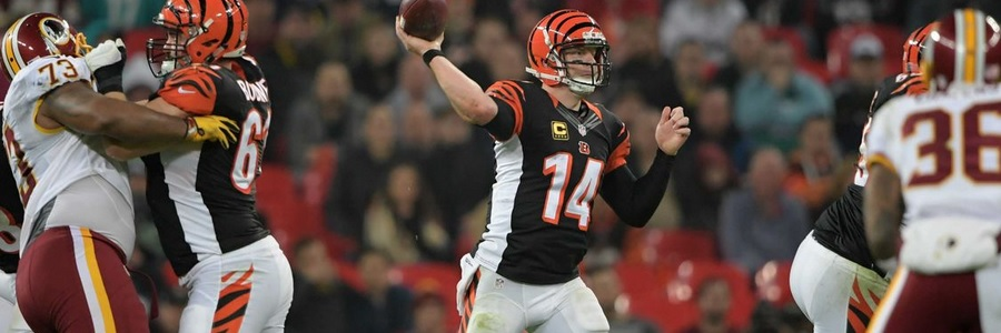 According to the Week 14 NFL Betting Lines, the Bengals can win easily against the Bears.