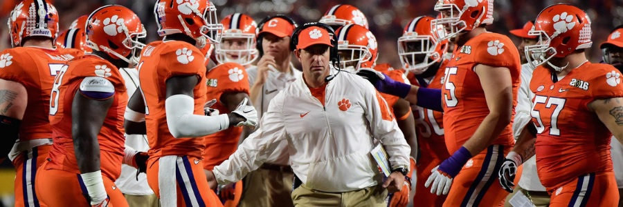 Clemson Stands as Huge NCAAF Betting Favorite Against Wake Forest.