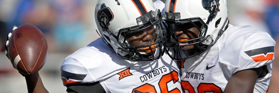 The Oklahoma State Cowboys are huge favorites against TCU