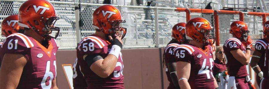 Virginia Tech is the favorite to win in College Football Week 1 against West Virginia.