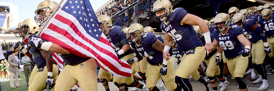 College Football Week 12 Betting Preview & Pick: Navy vs. Notre Dame.