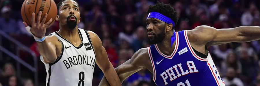 Nets vs 76ers is going to be a close one, again.