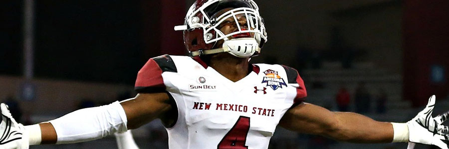 New Mexico State is one of the favorites for College Football Week 13.