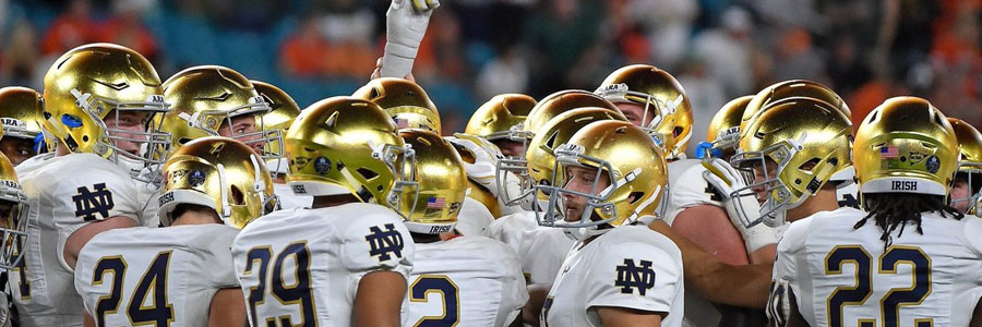 Notre Dame looks like a good College Football Week 5 betting pick.