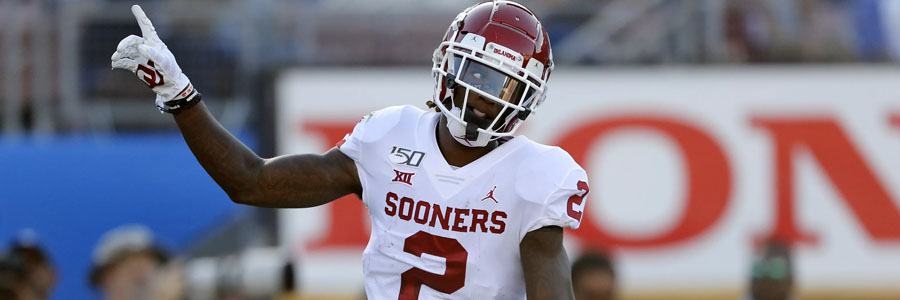 Texas Tech vs Oklahoma should be an easy one for the Sooners.