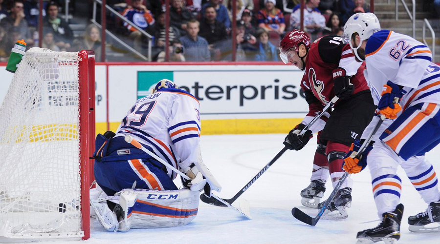 Oilers vs Coyotes NHL Game