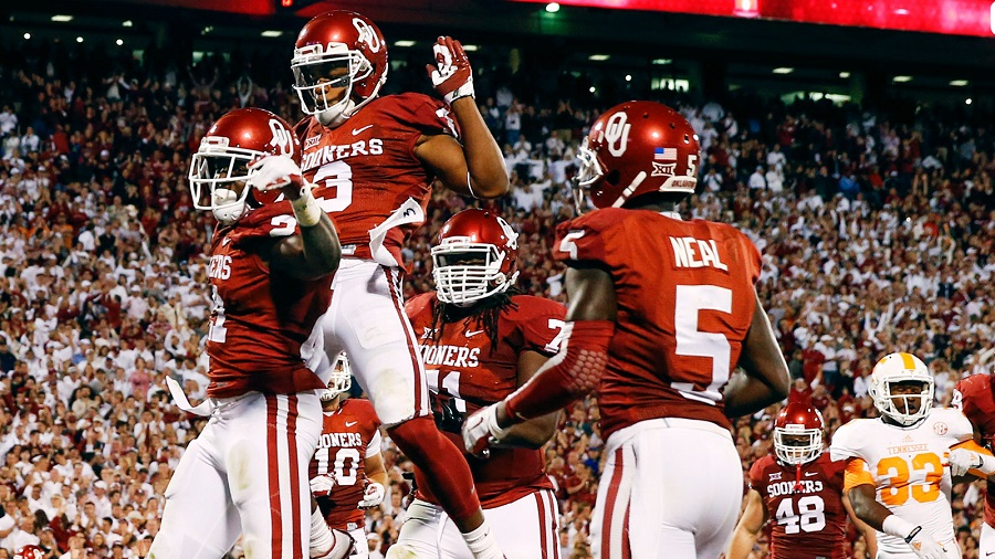 Early betting lines for Oklahoma Sooners College Football