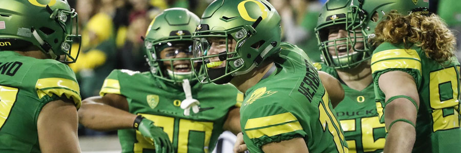 California vs Oregon should be an easy one for the Ducks.