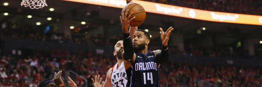 Magic vs Raptors 2019 NBA Playoffs Odds & Pick for Game 2.