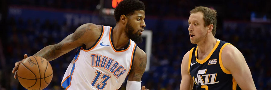 Once again, the Thunder comes in as the favorite at the NBA Lines against Utah.