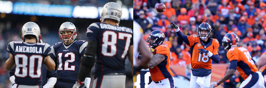 Who will come out on top of the AFC, Broncos or Patriots?