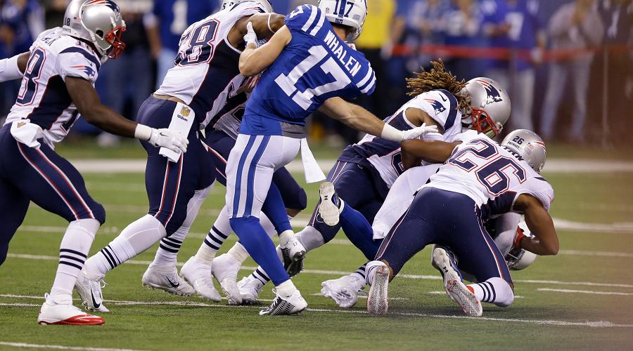 Pats vs Colts