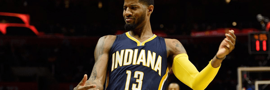 Paul George and company want another win vs the Hawks.