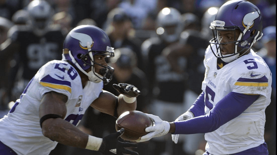 With AP's rushing and Bridgewater's passing the Vikings shouldn't be counted out.