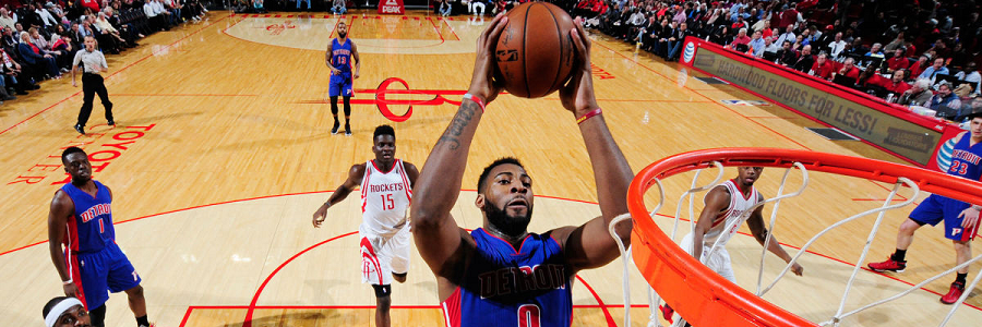 Andre Drummond has lifted the Pistons from bad to almost good.