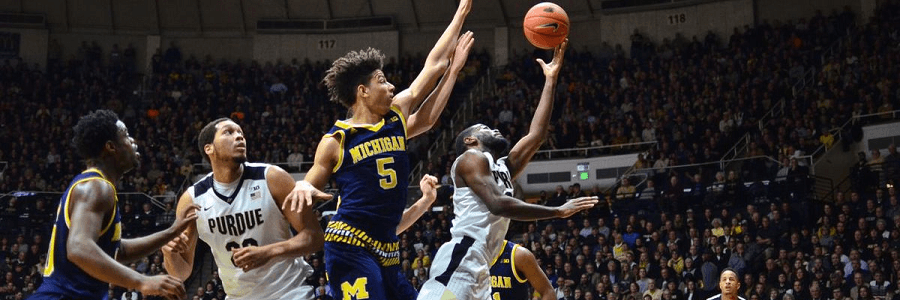 Michigan doesn't want the Spartans to get all the buzz in their state.