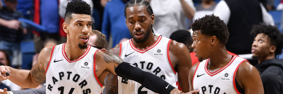 The Raptors are looking good at the latest NBA Championship Odds.