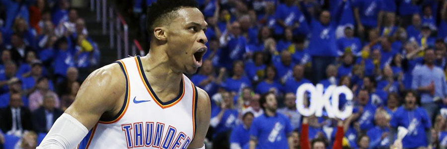 Thunder vs Pacers NBA Betting Odds & Game Info.