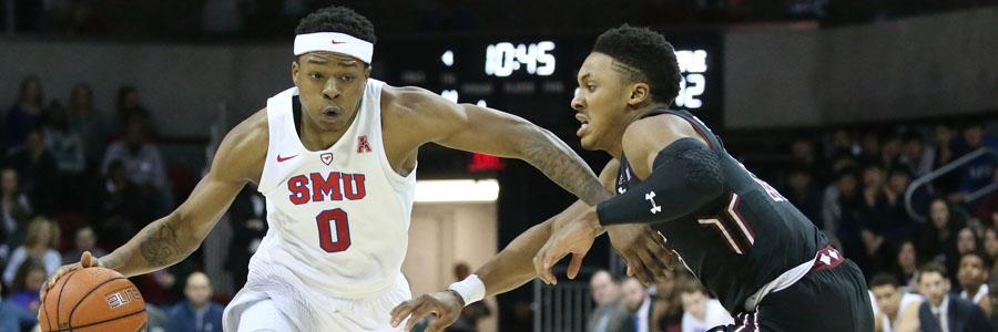 SMU vs Houston NCAAB Odds & Game Analysis.