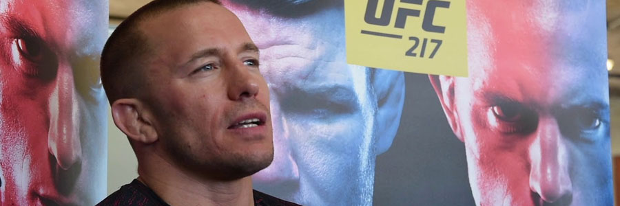 Despite being away for several years, George St.-Pierre is the favorite at the UFC 217 Main Event Betting Odds.