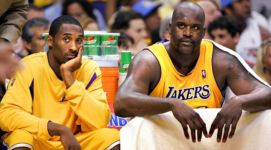 Shaq and Kobe