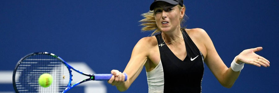 Maria Sharapova is always one of the Tennis Betting favorites.