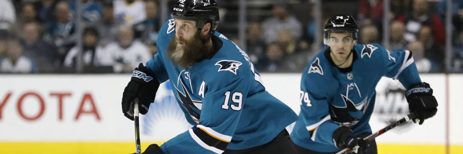 The Sharks come in as the clear favorite at the NHL Odds for Game 4.
