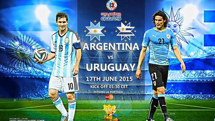 پخش زنده دیدار آرژانتین - اروگوئه