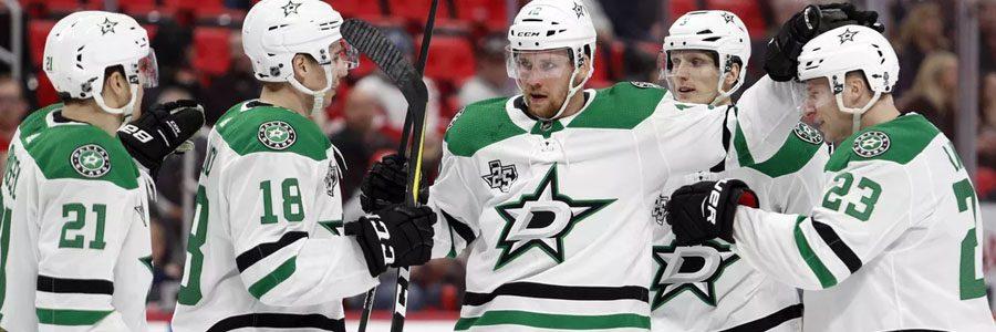 NHL Betting Lines & Prediction: Stars vs. Blue Jackets